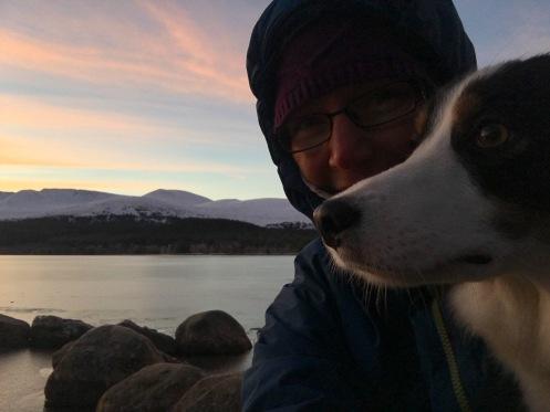 cairngorm-sunrise-selfie-jen-siula-rocks